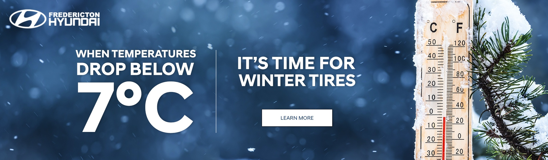 It's time for winter tires